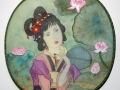 Lady with Lotus by Sheila McCormack