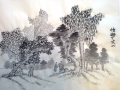 Figures in Landscape by Sheila McCormack