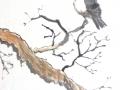 Bird in Tree by Sid Holloway